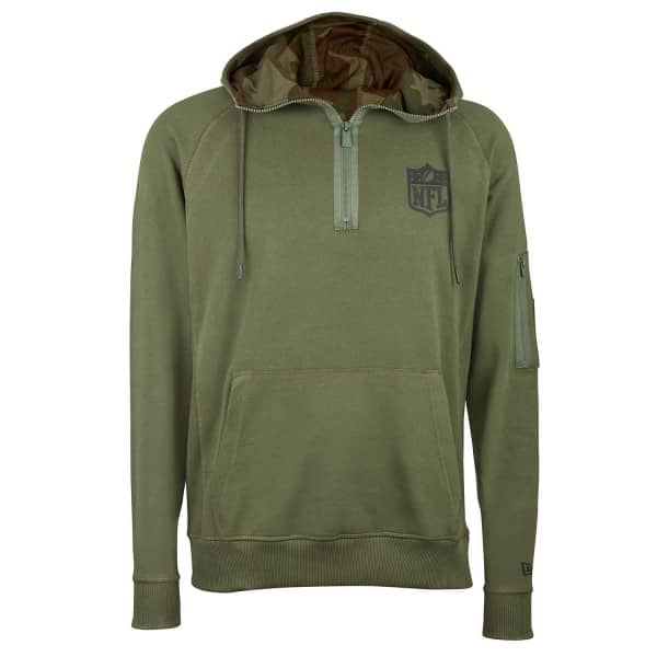 NFL Shield 2018 Camo Collection Quarter-Zip Hoodie