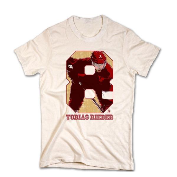 Arizona Coyotes Tobias Rieder NHL T-Shirt Beige