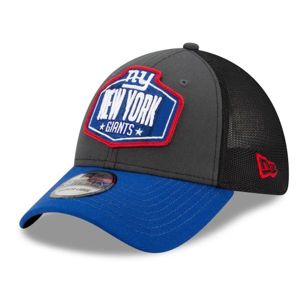 New York Giants Official 2021 NFL Draft New Era 39THIRTY Flex Fit Cap