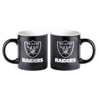 Las Vegas Raiders Black Matte Jumbo NFL Becher (415 ml)