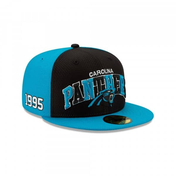Carolina Panthers 2019 NFL On-Field Sideline 59FIFTY Fitted Cap Home