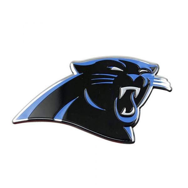 Carolina Panthers Aluminium Color NFL Team Emblem