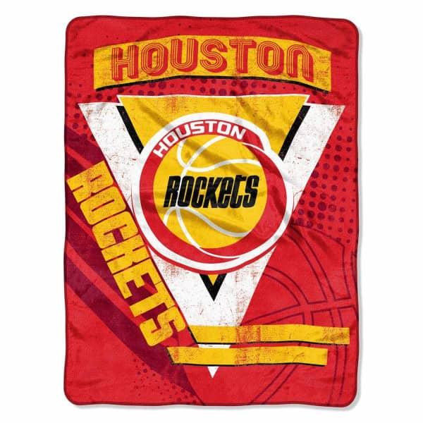 Houston Rockets Hardwood Classics Super Plush NBA Decke