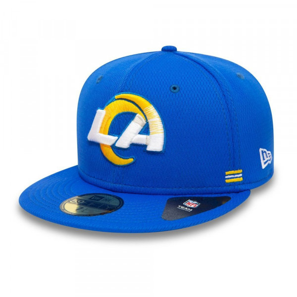 Los Angeles Rams Unofficial 2020 NFL Sideline New Era 59FIFTY Fitted Cap Home