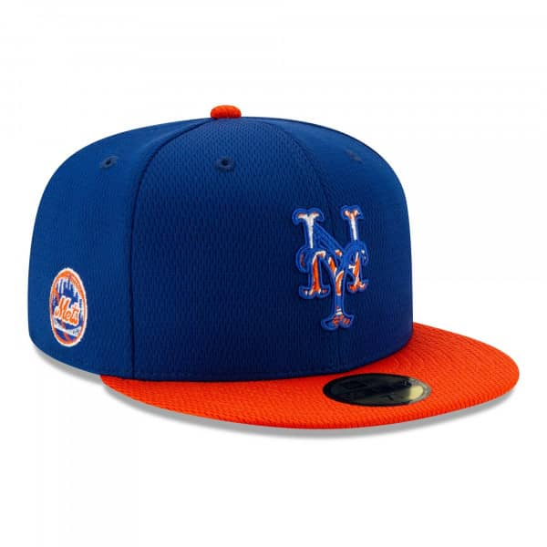 New York Mets 2021 MLB Authentic Batting Practice New Era 59FIFTY Fitted Cap