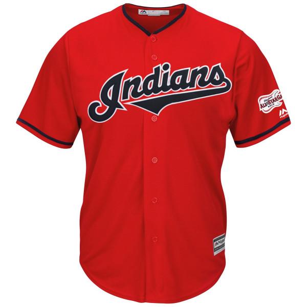 Cleveland Indians Cool Base MLB Trikot Alternate Home Rot 2019 All-Star Game