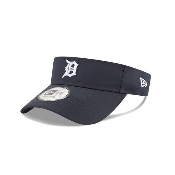 big sale 419a0 15f17 New Era Detroit Tigers 2019 Clubhouse MLB Visor   TAASS.com Fan Shop