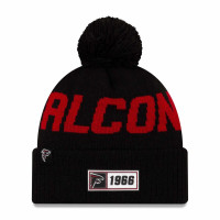 Atlanta Falcons 2019 NFL Sideline Sport Knit Wintermütze Road