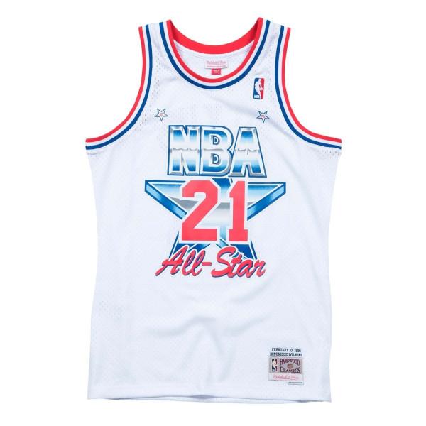 Mitchell   Ness Dominique Wilkins  21 1991 All-Star East Swingman NBA Jersey  White  46692da7f