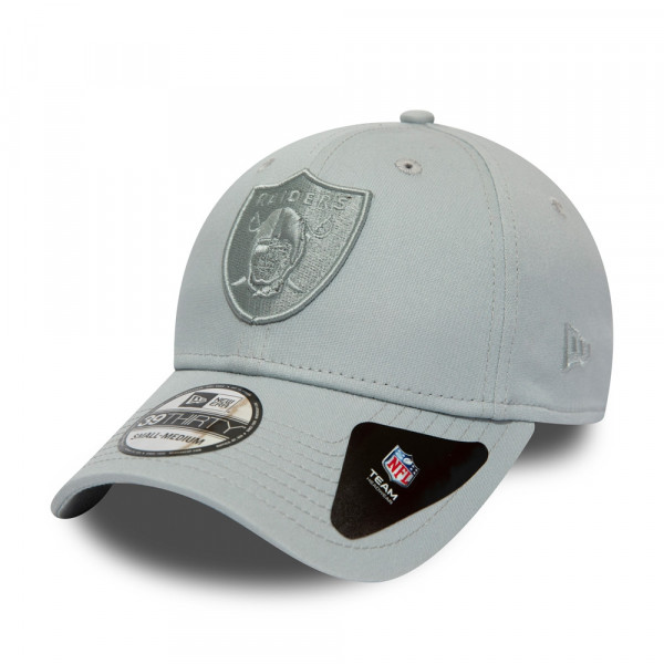 460a528d New Era Oakland Raiders Team Tonal 39THIRTY Flex Fit Cap Grey | TAASS.com  Fan Shop