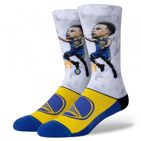 Golden State Warriors Stephen Curry Big Head NBA Socken