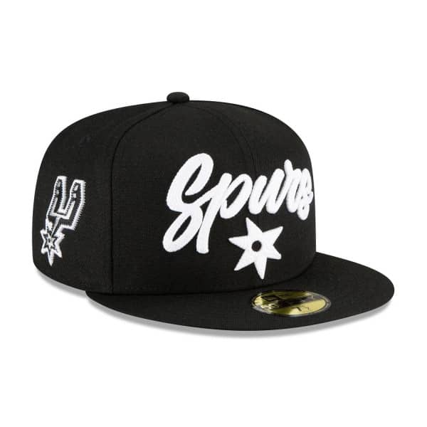 San Antonio Spurs Alternate Authentic 2020 NBA Draft New Era 59FIFTY Fitted Cap
