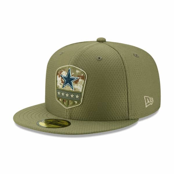 Dallas Cowboys 2019 On-Field Salute to Service 59FIFTY NFL Cap