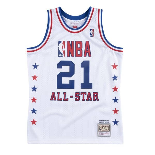 Dominique Wilkins #21 1988 NBA All-Star Game East Swingman Trikot
