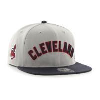 Cleveland Indians Script Sure Shot Snapback MLB Cap