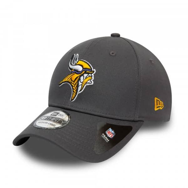Minnesota Vikings Team New Era 39THIRTY Flex Fit NFL Cap Grau
