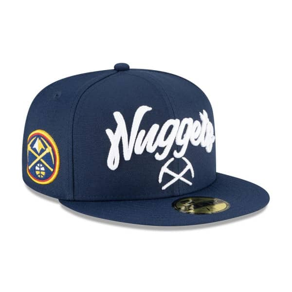 Denver Nuggets Alternate Authentic 2020 NBA Draft New Era 59FIFTY Fitted Cap