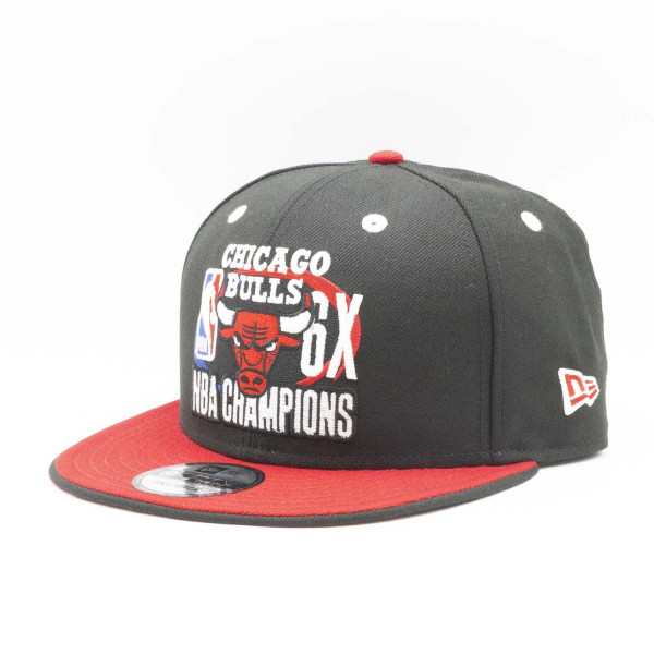Chicago Bulls 6-Time NBA Champions New Era 9FIFTY Snapback Cap