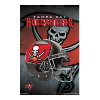Tampa Bay Buccaneers Helmet Football NFL Poster