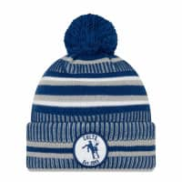 Indianapolis Colts Throwback 2019 NFL Sideline Sport Knit Wintermütze Home