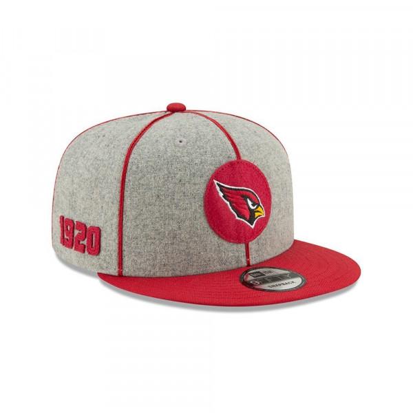 Arizona Cardinals 2019 NFL On-Field Sideline 9FIFTY Snapback Cap Home