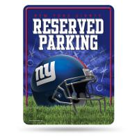 New York Giants Reserved Parking NFL Metallschild