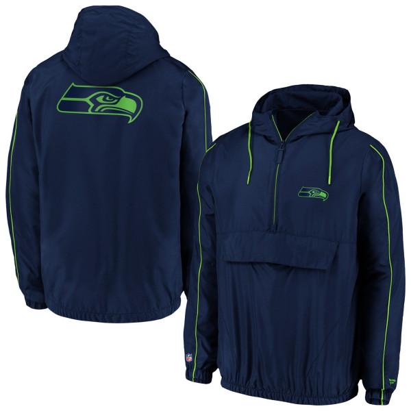 Seattle Seahawks Carnival Quarter-Zip NFL Jacke