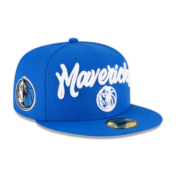 Dallas Mavericks Alternate Authentic 2020 NBA Draft New Era 59FIFTY Fitted Cap