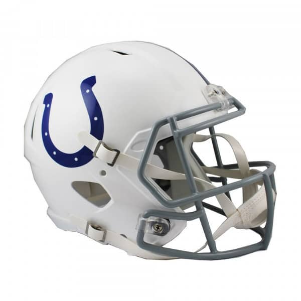 Indianapolis Colts Replica NFL Speed Full Size Helm