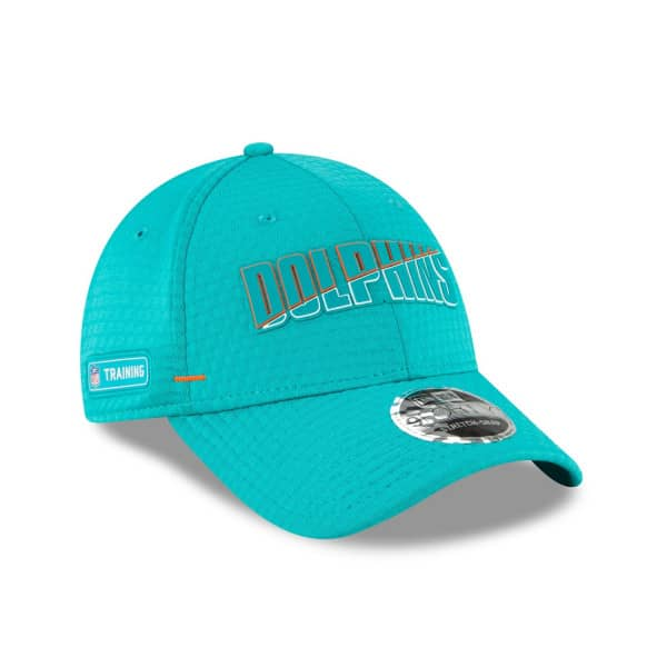 Miami Dolphins 2020 Summer Sideline New Era Stretch-Snap 9FORTY NFL Cap