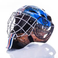 Edmonton Oilers NHL Mini Goalie Mask