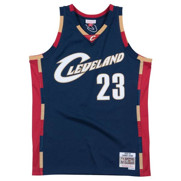 LeBron James #23 Cleveland Cavaliers 2008-09 Mitchell & Ness Swingman NBA Trikot