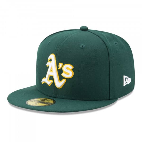 Oakland Athletics Authentic 59FIFTY Fitted MLB Cap Road