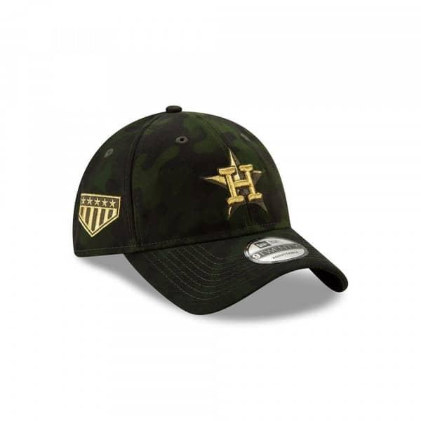 074ecb85729bd New Era Houston Astros 2019 Armed Forces Day 9TWENTY Adjustable MLB Cap