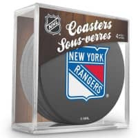 New York Rangers NHL Eishockey Puck Untersetzer (4er Set)
