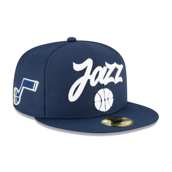 Utah Jazz Alternate Authentic 2020 NBA Draft New Era 59FIFTY Fitted Cap