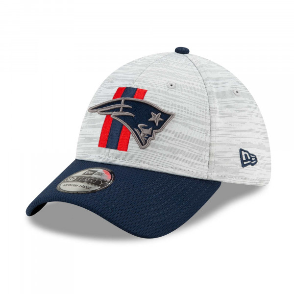 New England Patriots 2021 NFL Offical Training New Era 39THIRTY Flex Fit Cap