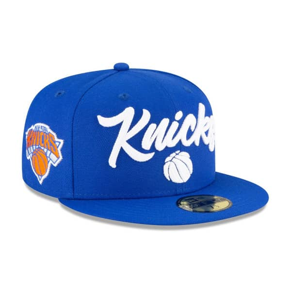 New York Knicks Alternate Authentic 2020 NBA Draft New Era 59FIFTY Fitted Cap