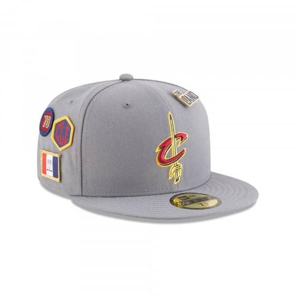 new concept 02f64 434cc New Era Cleveland Cavaliers 2018 NBA Draft 59FIFTY Fitted Cap Storm Grey    TAASS.com Fan Shop