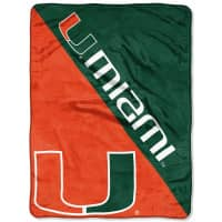 Miami Hurricanes Super Plush NCAA Decke