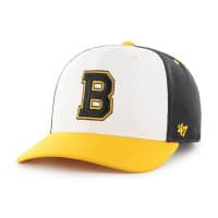 Boston Bruins Vintage Cold Zone '47 MVP DP Snapback NHL Cap