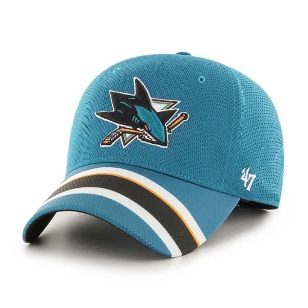 San Jose Sharks Jersey '47 Solo Stretch Fit NHL Cap