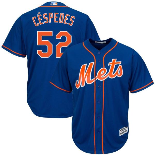 Yoenis Cespedes #52 New York Mets Cool Base MLB Trikot Alternate Home