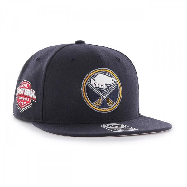 aee2eb81238 47 Brand Buffalo Sabres Sure Shot Snapback NHL Cap Navy