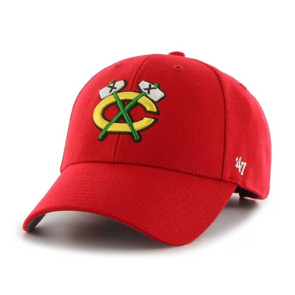 Chicago Blackhawks MVP Adjustable NHL Cap Alternate