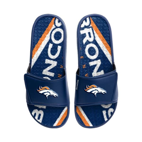 Denver Broncos NFL Wordmark Gel Badelatschen