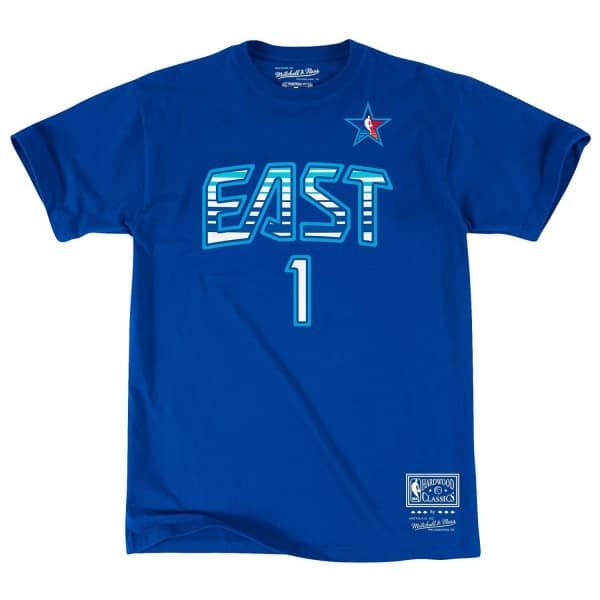 Allen Iverson #1 2009 All-Star East Name & Number NBA T-Shirt