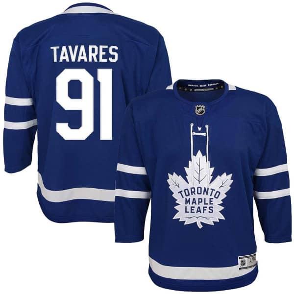 John Tavares #91 Toronto Maple Leafs Premier Youth NHL Trikot Home (KINDER)
