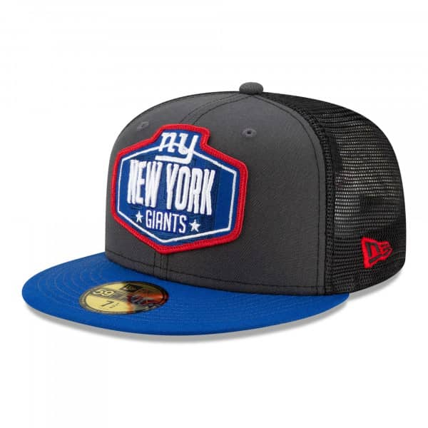 New York Giants Official 2021 NFL Draft New Era 59FIFTY Fitted Cap