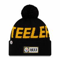 Pittsburgh Steelers 2019 NFL Sideline Sport Knit Wintermütze Road